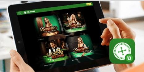 unibet app live casino