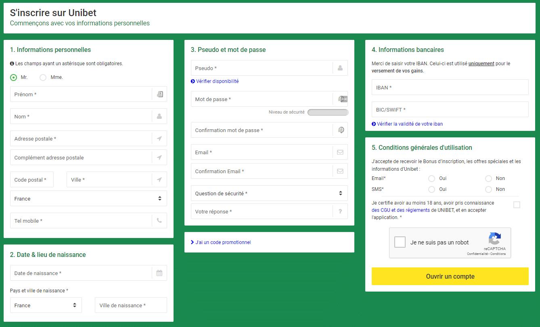 unibet fr register
